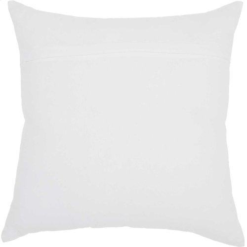 """Trendy, Hip, New-age Jb210 White 18"""" X 18"""" Throw Pillows"""