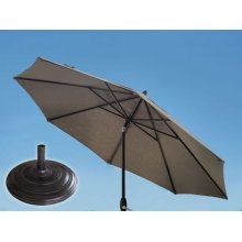 9.0' Umbrella, 9' & 11' Umbrella Extension Pole, XL8 Umbrella Base