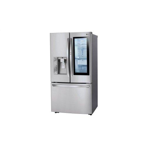 24 cu  ft  Smart wi-fi Enabled InstaView Door-in-Door® Counter-Depth  Refrigerator
