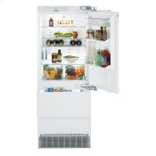 "30"" Combined refrigerator-freezer with NoFrost for integrated use"
