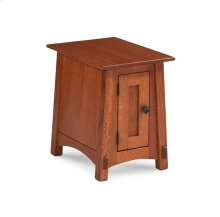 McCoy 1-Door Cabinet Chair Side Table