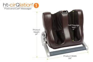 CirQlation 1 Foot and Calf Massager - EspressoPU
