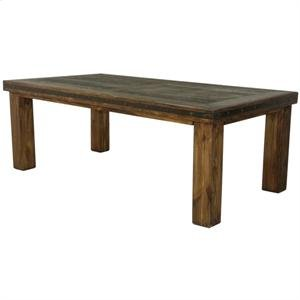 "84"" x 44"" x 30"" Laguna Dining Table with Reclaimed Wood"