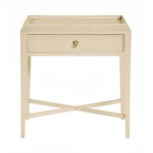 Salon Nightstand in Alabaster (341)