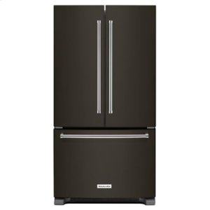 KITCHENAID20 cu. ft. 36-Inch Width Counter-Depth French Door Refrigerator with Interior Dispense - Black Stainless