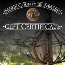 Stone County Ironworks Gift Certificate