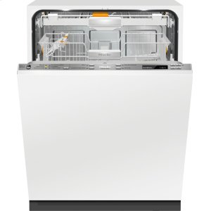 MieleFully-integrated, ADA dishwasher with hidden control panel, 3D+ cutlery tray, Knock2open and custom panel ready