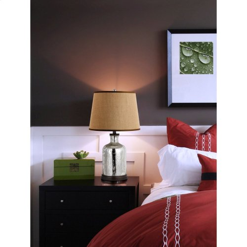 150W Malibu Glass Table Lamp