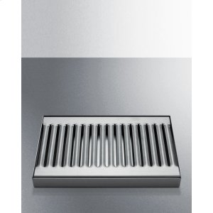 Stainless Steel Drip Tray for Beer Dispensers -