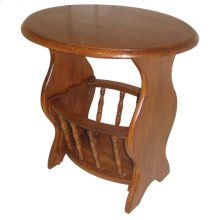 Oval Magazine Table (RTA)
