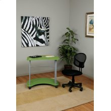 Kool Kolor Computer Cart In Green Finish