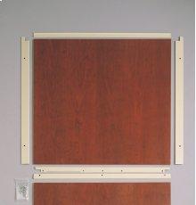 "Built-In Dishwasher 1/4"" Custom Panel Trim Kit - Black"