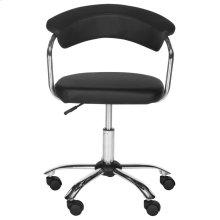 Pier Desk Chair - Black