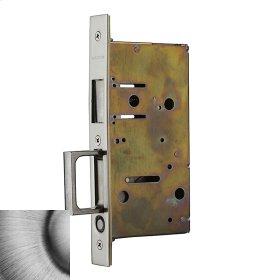 Matte Antique Nickel 8603 Pocket Door Strike with Pull