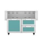 "Hestan42"" Hestan Outdoor Tower Cart with Door/Drawer Combo - GCR Series - Bora-bora"