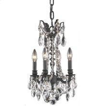 8204 Rosalia Collection Hanging Fixture Dark Bronze Finish