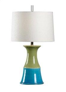 Portofina Lamp - Teal/kiwi