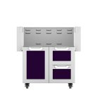 "Hestan30"" Hestan Outdoor Tower Cart with Door/Drawer Combo - GCR Series - Lush"