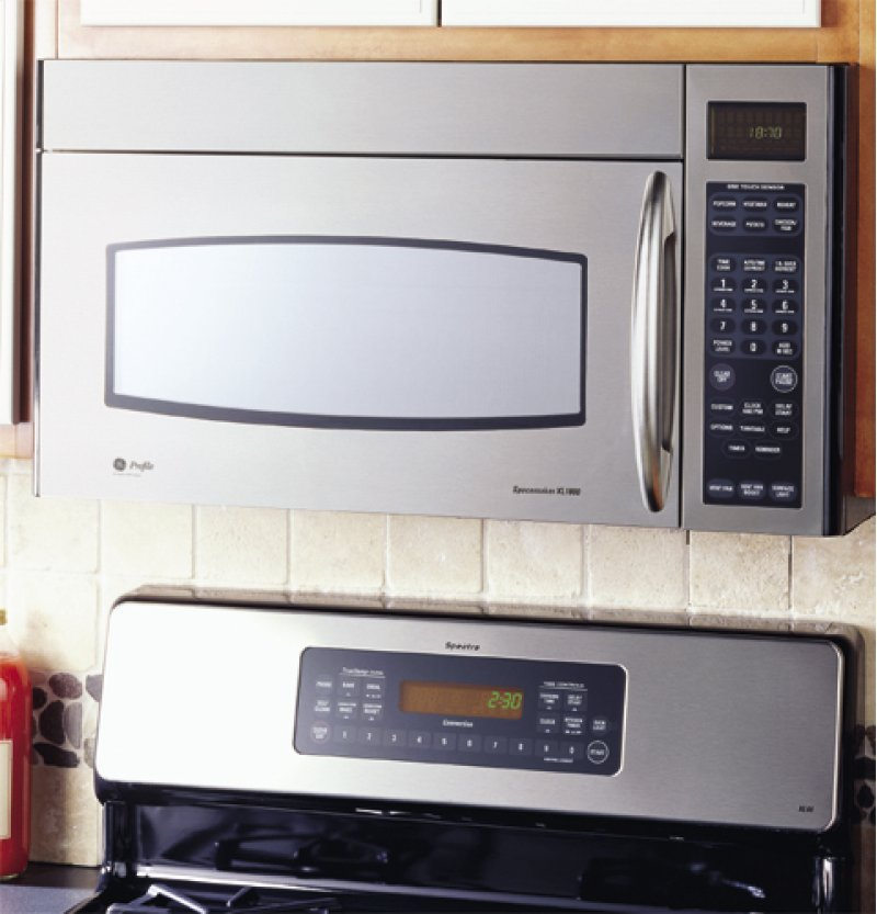 Ge Profile Spacemaker Xl1800 Under Cabinet Microwave