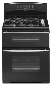 """30"""" Dual-Fuel Double Oven Range with Convection"""