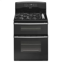 "30"" Dual-Fuel Double Oven Range with Convection"