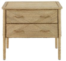 Kaipo Two Drawer Chest - 31h x 36w x 22.25d