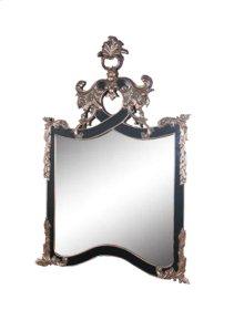 Marbella Arendal Black & Silve Mirror