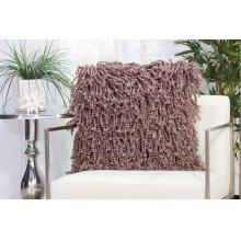 """Shag Dc105 Lavender 20"""" X 20"""" Throw Pillows"""