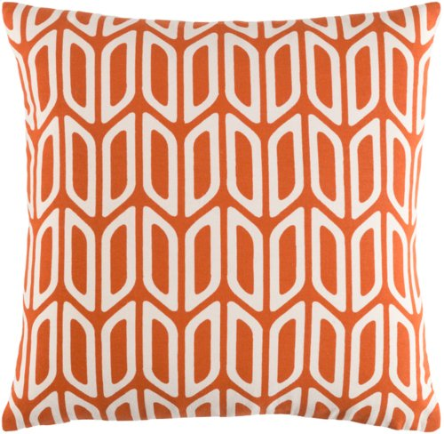 "Trudy TRUD-7133 18"" x 18"" Pillow Shell with Polyester Insert"