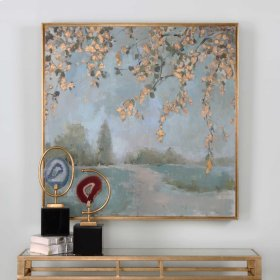 Peaceful Hand Painted Canvas
