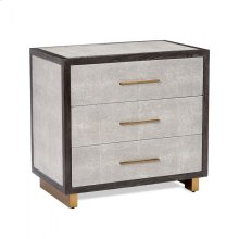 Maia Bedside Chest - Grey