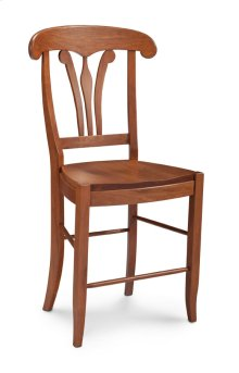 "Marseille Stationary Barstool, 24"" Seat Height"