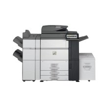 65 ppm B&W and Color networked digital MFP