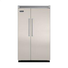 "Oyster Gray 48"" Quiet Cool™ Side-by-Side Refrigerator/Freezer - VISB Tru-Flush™ (48"" wide)"