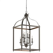 Larkin Collection Larkin 8 Light Foyer Pendant - Olde Bronze OZ
