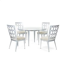 Domino Round Dining Set