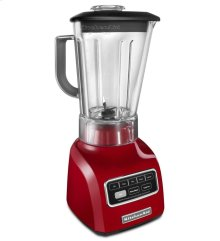 5-Speed Blender with Die Cast Base and 56-oz. BPA-Free Pitcher - Empire Red