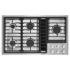 "Jenn-AirEuro-Style 36"" JX3 Gas Downdraft Cooktop"