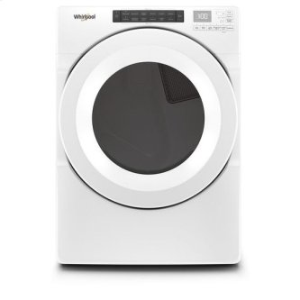 Whirlpool(R) 7.4 cu.ft Front Load Gas Dryer with Intiutitive Touch Controls - White