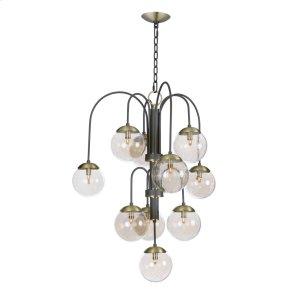 Reverb 10-Light Pendant w/Xenon Bulbs
