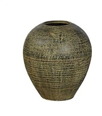 Small Blue-Black Cream Urn Product Image