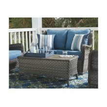 Loveseat Glider W/table (2/cn)