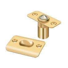Ball Catch, Round Corners - PVD Polished Brass