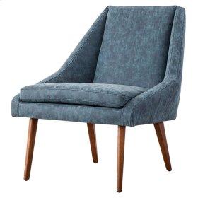 Enzo KD PU Accent Chair, Kalahari Blue