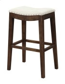 "Emerald Home Rancho Barstool 30"" Beige Seat W/ Brown Legs D50-30-09 Product Image"