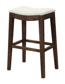 "Emerald Home Rancho Barstool 30"" Beige Seat W/ Brown Legs D50-30-09"