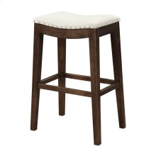 "Emerald Home Rancho Barstool 30"" Beige Seat W/ Brown Legs D50-30-09"