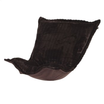 Puff Chair Cushion Mink Brown Product Image