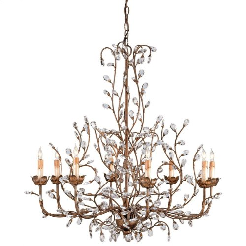 Crystal Bud Cupertino Large Chandelier