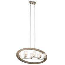 Grand Bank Collection Grand Bank Oval 8 Light Chandelier DAG
